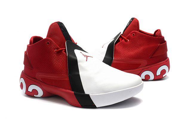 9de87e5a0b54d5 Jordan Ultra Fly 3 Gym Red White-Black Basketball Shoes AR0044-601 ...