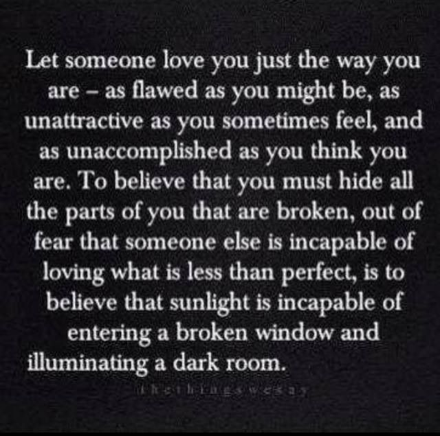 Love Finds You Quote: My Imperfections Are Just As Much A Part Of Myself As All