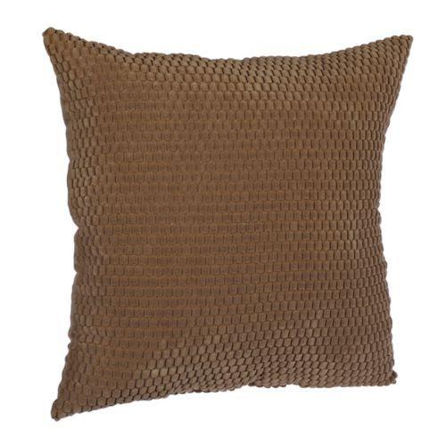 Tan Harris Suede Pillow | Kirklands