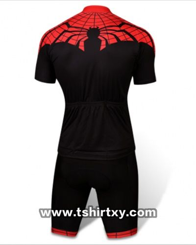 Ultimate Spider Man Cycling Jerseys Cool Superhero Bike Riding T Shirt And Shorts Suit
