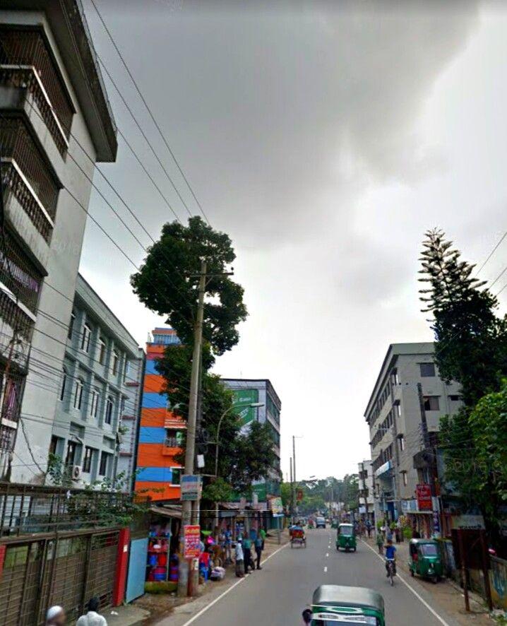 Sylhet city, Bangladesh.