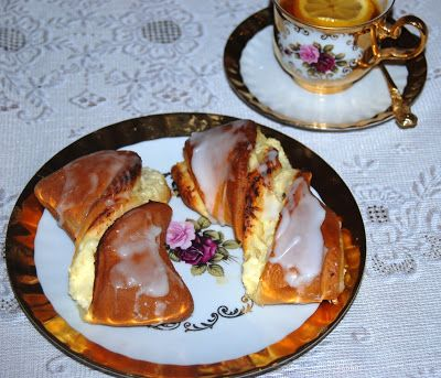 O kuchni z uczuciem : Drożdżówki z serem