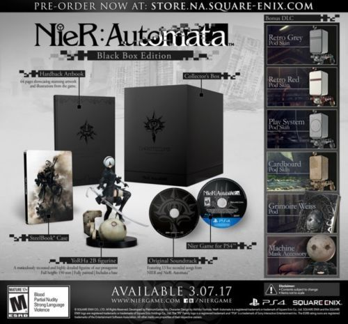 #Trending03 - NIER: Automata Black Box Edition [PS4] Limited Collector's Edition - Sold Out!! https://t.co/UzFg4sqiQg