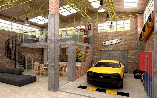 Garajes reconvertidos en viviendas garajes convertidos for Garajes para carros