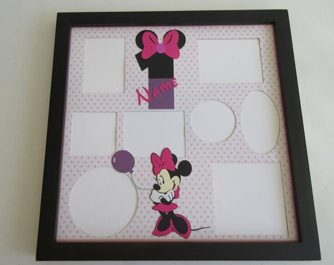 Disney Themed Birthday Party Picture Frame Collage Photo Frames ...