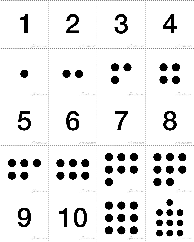 Number Matching - Cards & Activity | Basic math, Math skills and Math