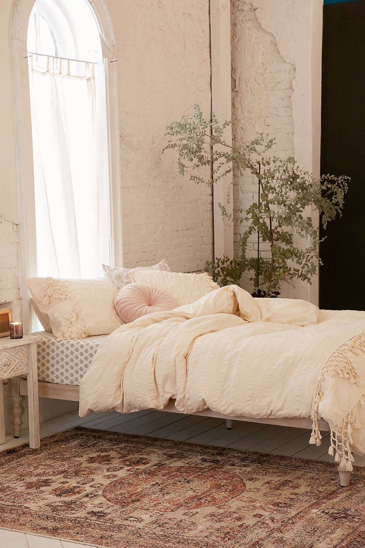 Shop the Xandra Trim Duvet Cover and more Urban Outfitters at Urban  Outfitters. Read customer