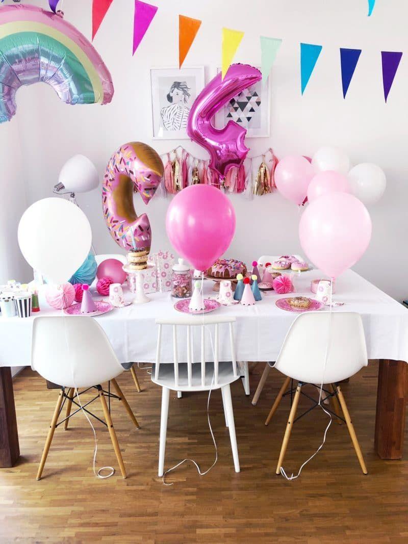 4 Geburtstag Feiern Spiele Und Deko Ideen Fur Den