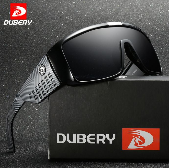 DUBERY Sunglasses Men Polarized Driving Fishing Outdoor Sport Cycling Eyewear