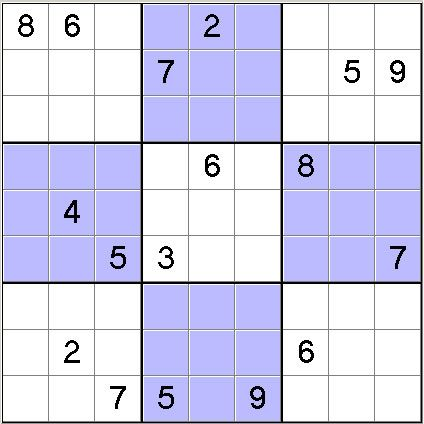 photo about Printable Sudoku Hard titled 1000 amazingly challenging printable sudoku puzzles,Excessive soduku