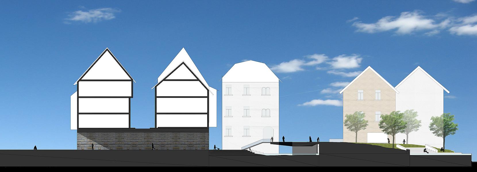 Architektur Erfurt robertogherardi project erfurt urbanredevelopment kramerbrucke