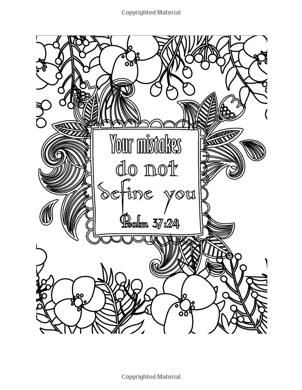 amazoncom color your blessings a christian coloring book for relaxation inspiration - Christian Coloring Book