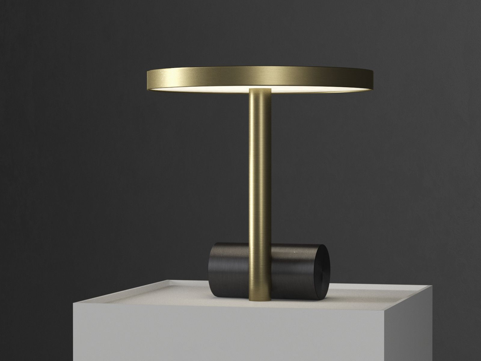 Free 3d Model Calee Table Lamp By South Hill Home On Behance Table Lamp Lamp Table Lamp Lighting