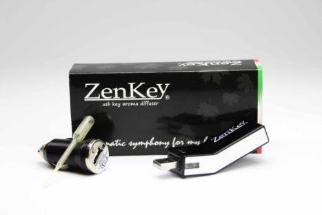ZenKey - Chiavetta USB Diffusore di aromi e oli essenziali ad ultrasuoni Gisa Wellness | #wellness #benessere #salute #zen