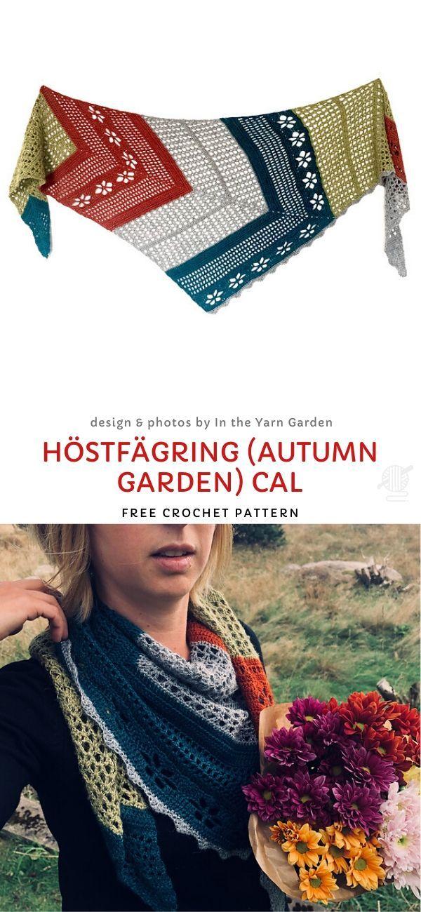 Höstfägring (Autumn Garden) CAL Free Crochet Pattern – crochet patterns