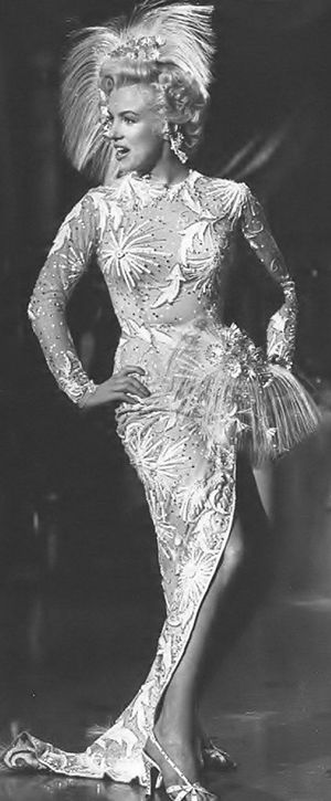 """Marilyn Monroe, """"There's No Business Like Show Business"""", 1954."""