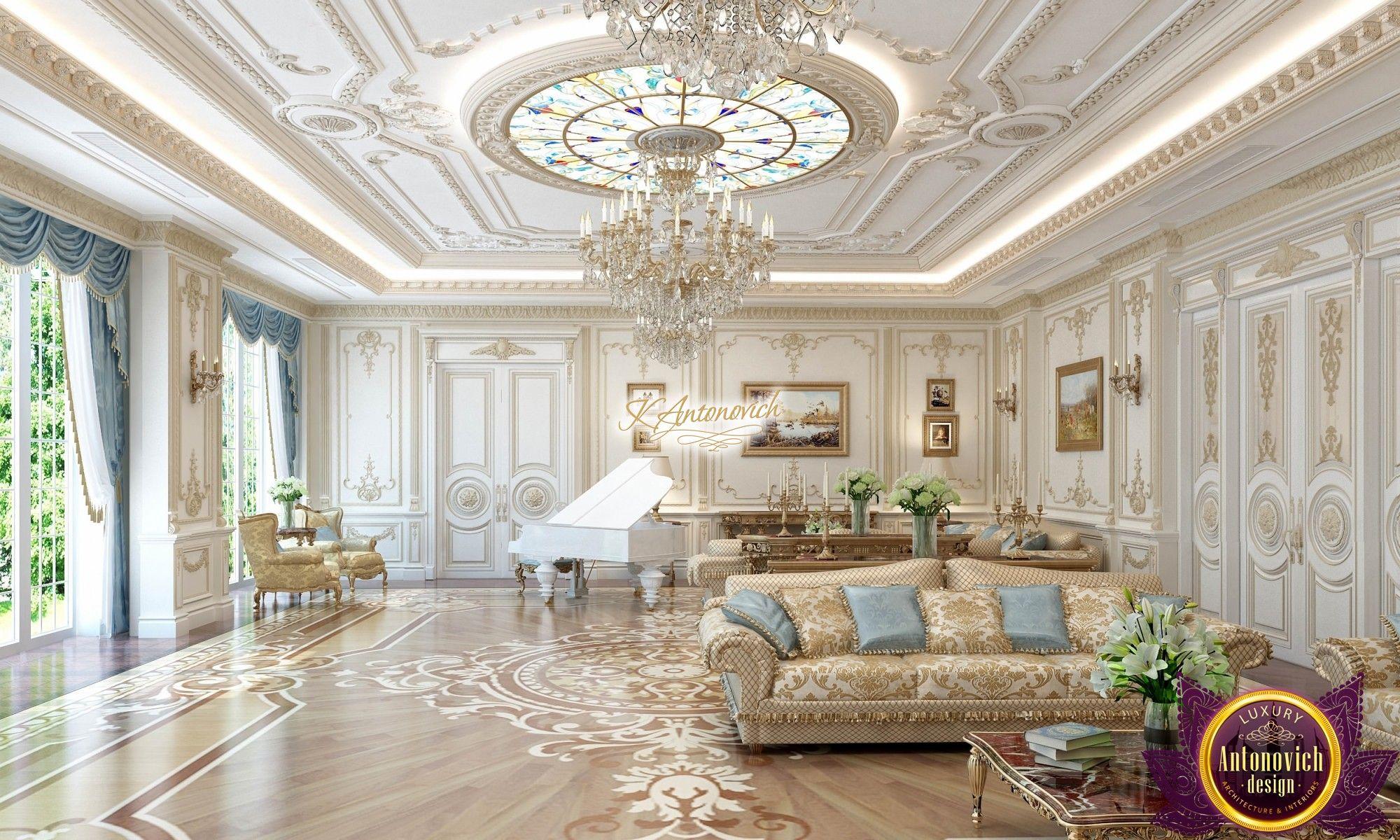 Splendid Villa Interior Design Luxury Ceiling Design House Design Interior Design