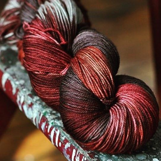 Absolutely stunning colors from Ravelry... What would you want to make with this beauty? http://bit.ly/1U7Wpwi #furls #furlscrochet #crochet #crochetaddict #craft #diy #crochetersofinstagram #love #crochetlove by furlscrochet