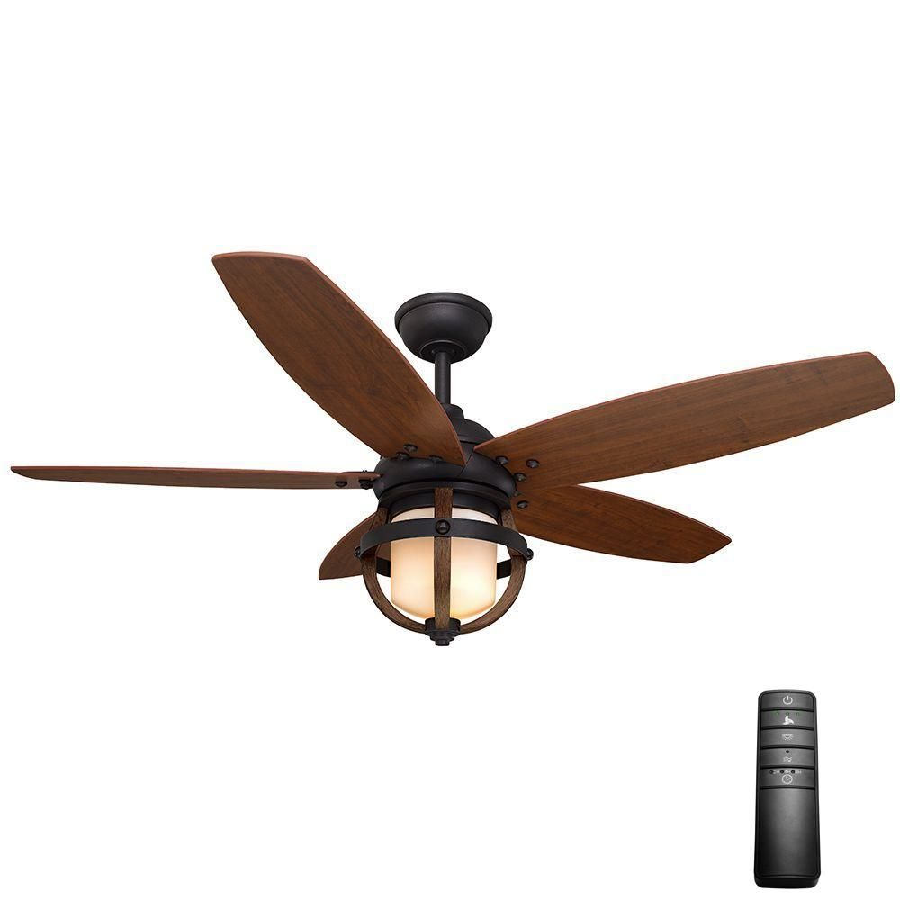 Home decorators collection noah 52 in indoor forged iron ceiling home decorators collection noah 52 in indoor forged iron ceiling fan with light kit and mozeypictures Images