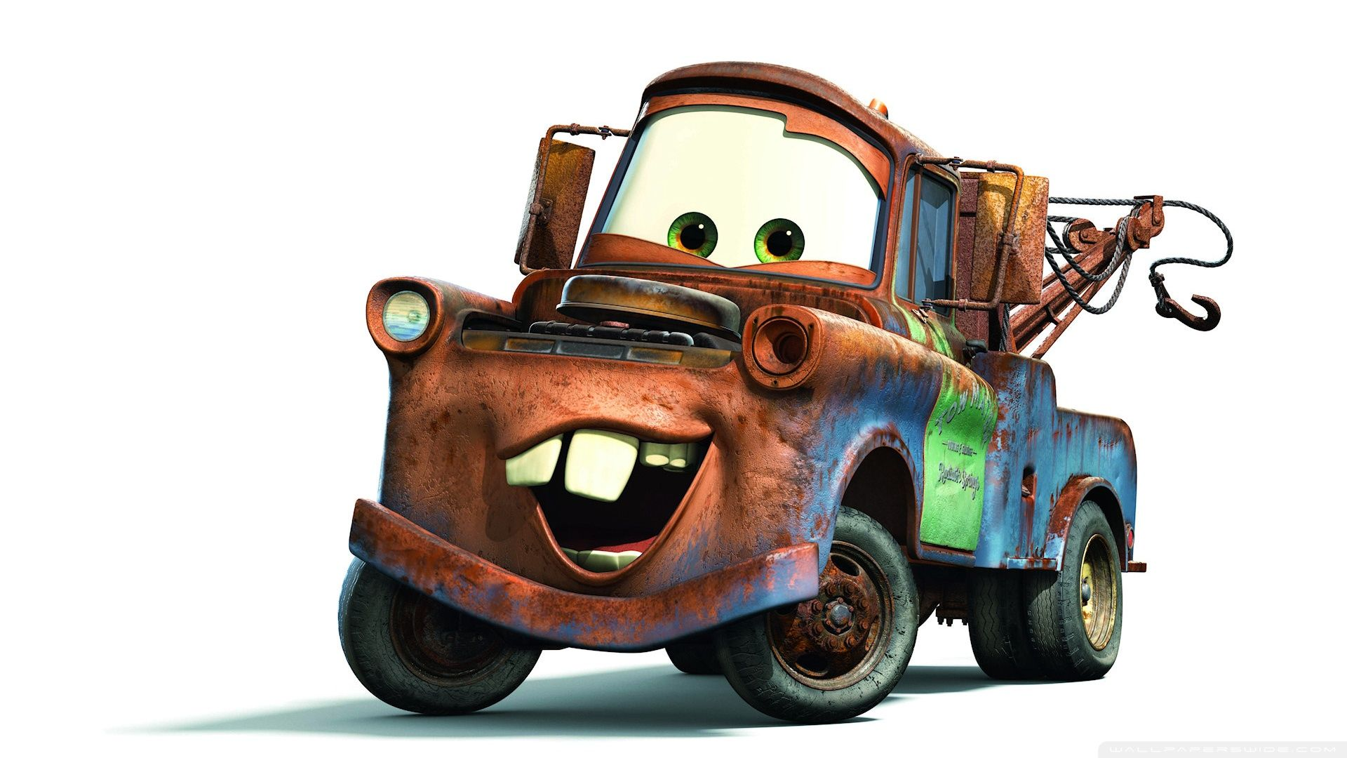 Cars Movie Tow Mater Hd Widescreen High 463742 Jpg 1920 1080 Mater Cars Cars Movie Cars Characters