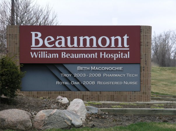 William Beaumont Hospital  Royal Oak, Michigan  Woodward and