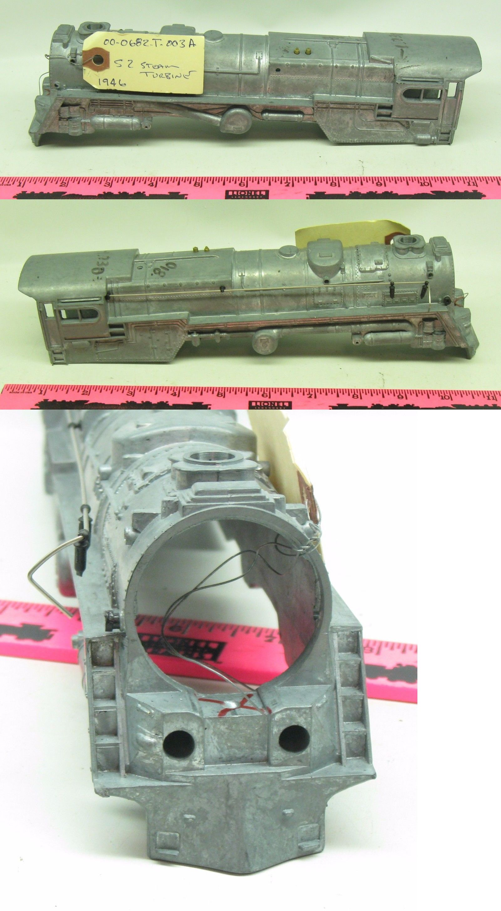 Parts and Spares Lionel Shell 00 0682 T 003A S2 Steam