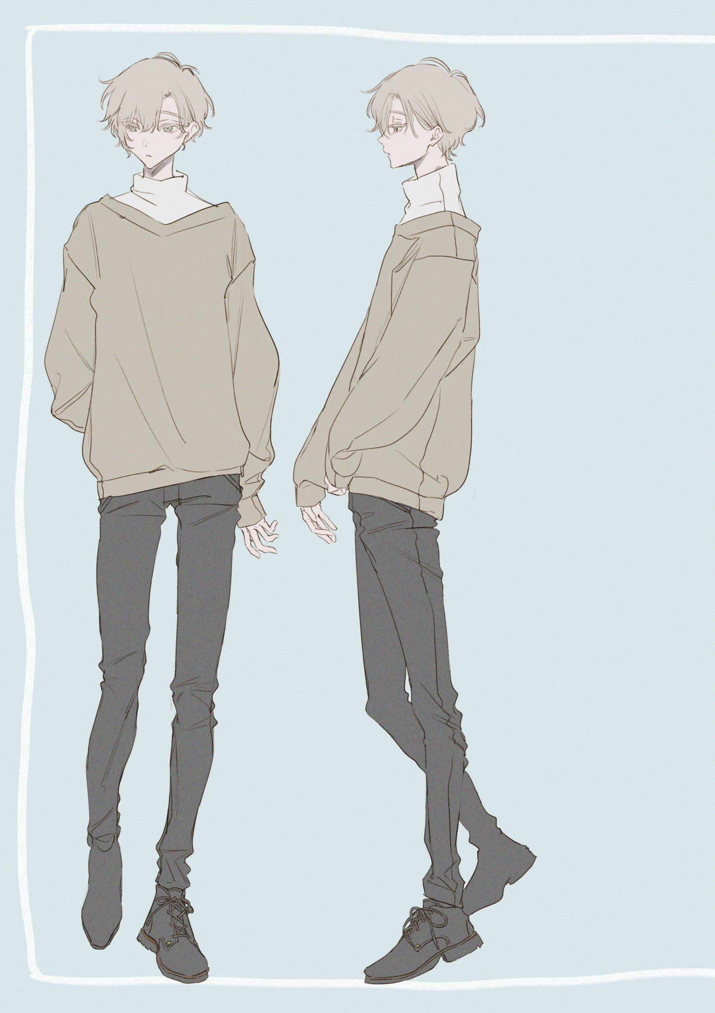 Anime Boy Clothes : anime, clothes, Animeface, #animemale, #animepersonagens, #animeposes, Drawing, Anime, Clothes,, Character, Design