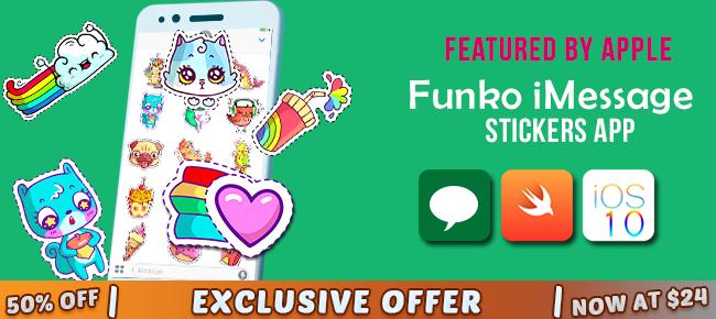 Funko Stickers for iMessage An iMessage App Sticker