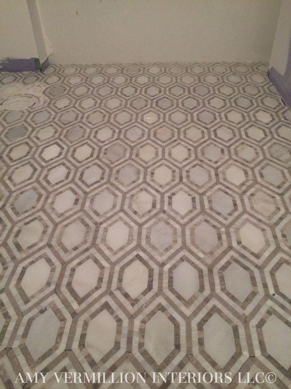 Amy Vermillion Interiors Marble Mosaic Floor Floor Coverings Floors Pinterest Mosaic Floors