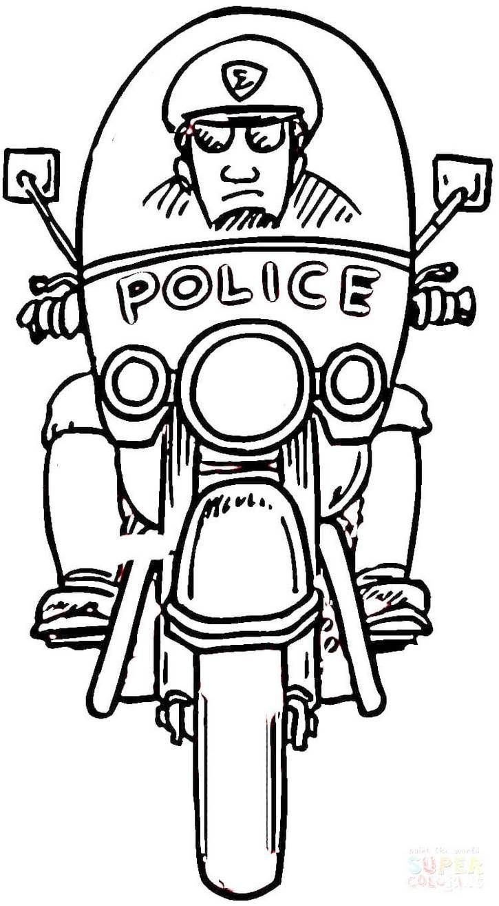 Useful Images Of Policeman Coloring Pages To Learn About The