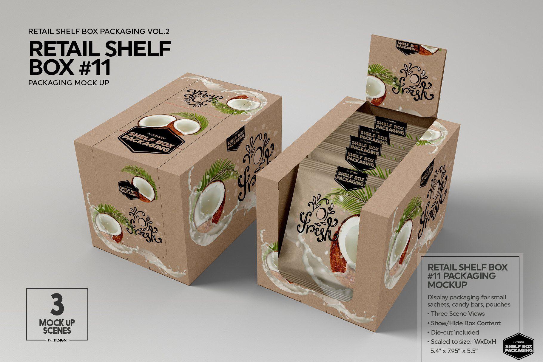 Download Retail Shelf Box 11 Packaging Mockup Packaging Mockup Retail Shelving Packaging
