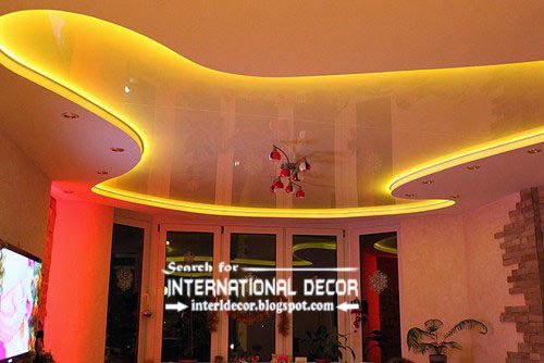 Elegant Get Stylish Look In Your Interior By Using LED Ceiling Lights And LED Strip  Ceiling Lighting For False Ceiling, Pop Design, False Ceiling And Suspended  ...