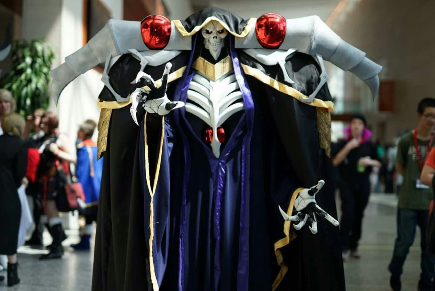 Cosplay of Ainz Ooal Gown from Overlord cosplay overlord