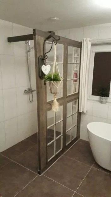 60 lovely bathroom decor ideas with farmhouse style 5 ~ Design And Decoration