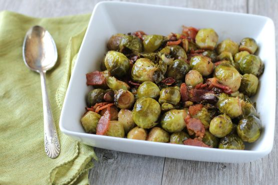 Brussel Sprout Recipes With Bacon Balsamic Vinegar