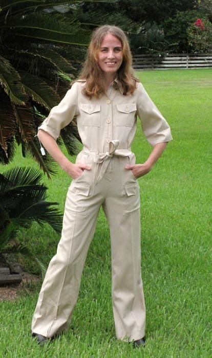 Vintage Safari Suit