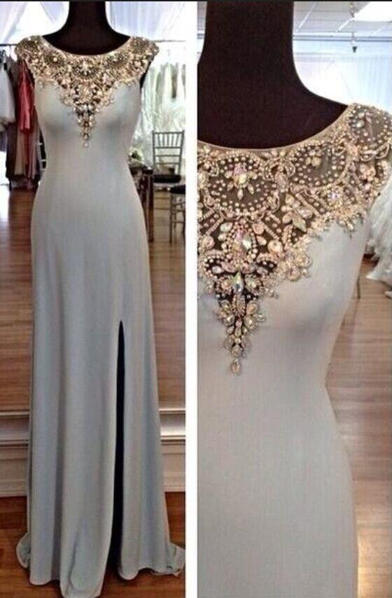 Custom Made A Line Floor Length Prom Dresses Elegant Formal Dresses Sexy Evening Dresses Dresses For Prom Long Prom Dresses