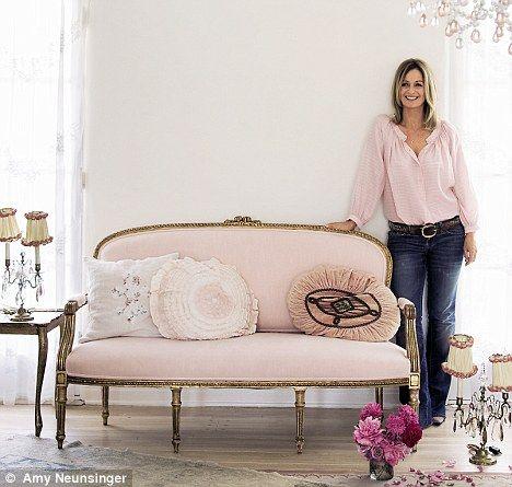 Rachael ashwell shabby chic originator. Pink!