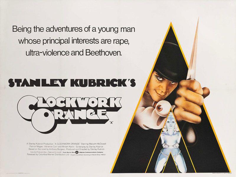 A Clockwork Orange (V2 | Clockwork orange, Film posters ...