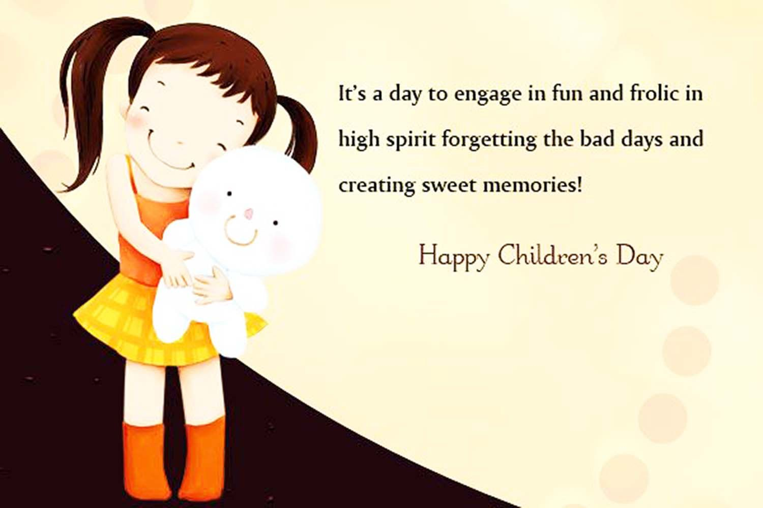 Happy Childrens Day Quotes Wishes And Small Thoughts Badhaaicom