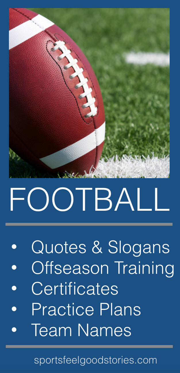 Football coach and parent resources in 2018 football resources football team names football practice plans football certificates award templates great for team parents football mom football wife and youth maxwellsz