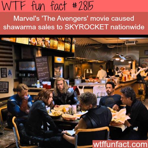 The Avengers Shawarma Scene - WTF Fun Facts