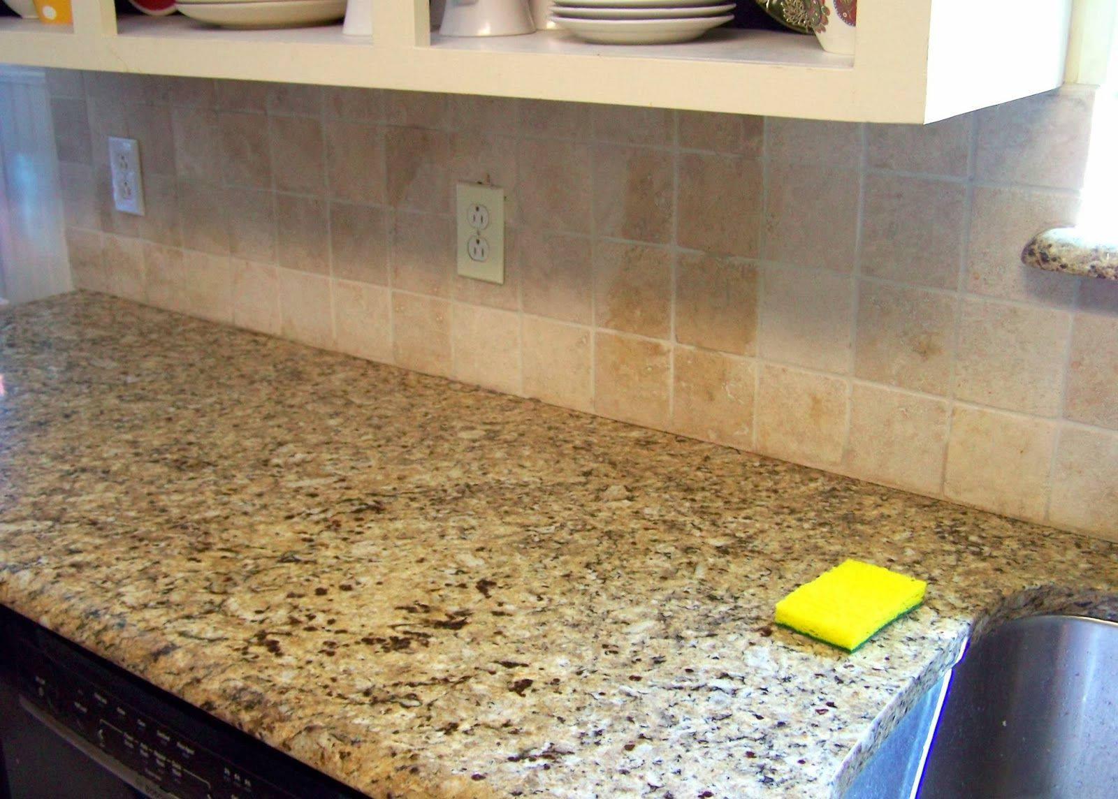 Spray Paint Tile Backsplash Decor Gallery Painted Cover Those Ugly Tiles  Make And Diy Source