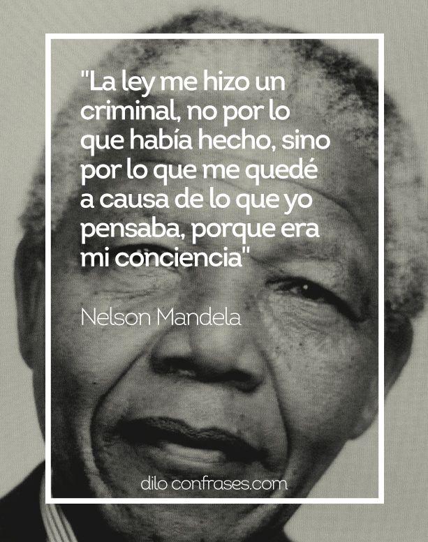 Las Diez Mejores Frases De Nelson Mandela Nelson Mandela