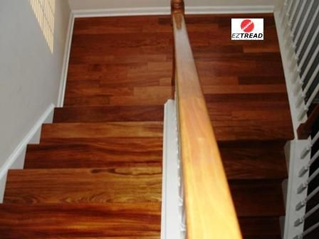Best Eztread Staircase Refacing System® Prefinished Treads 400 x 300