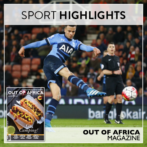 SPORT HIGHLIGHTS Formula 1 makes its return this month and the race for the Premier League title reaches a fever pitch as the season enters its final stretch. Never miss a fixture with OUT OF AFRICA Magazine - Go Camping!  See more at http://ift.tt/1U6C1sm