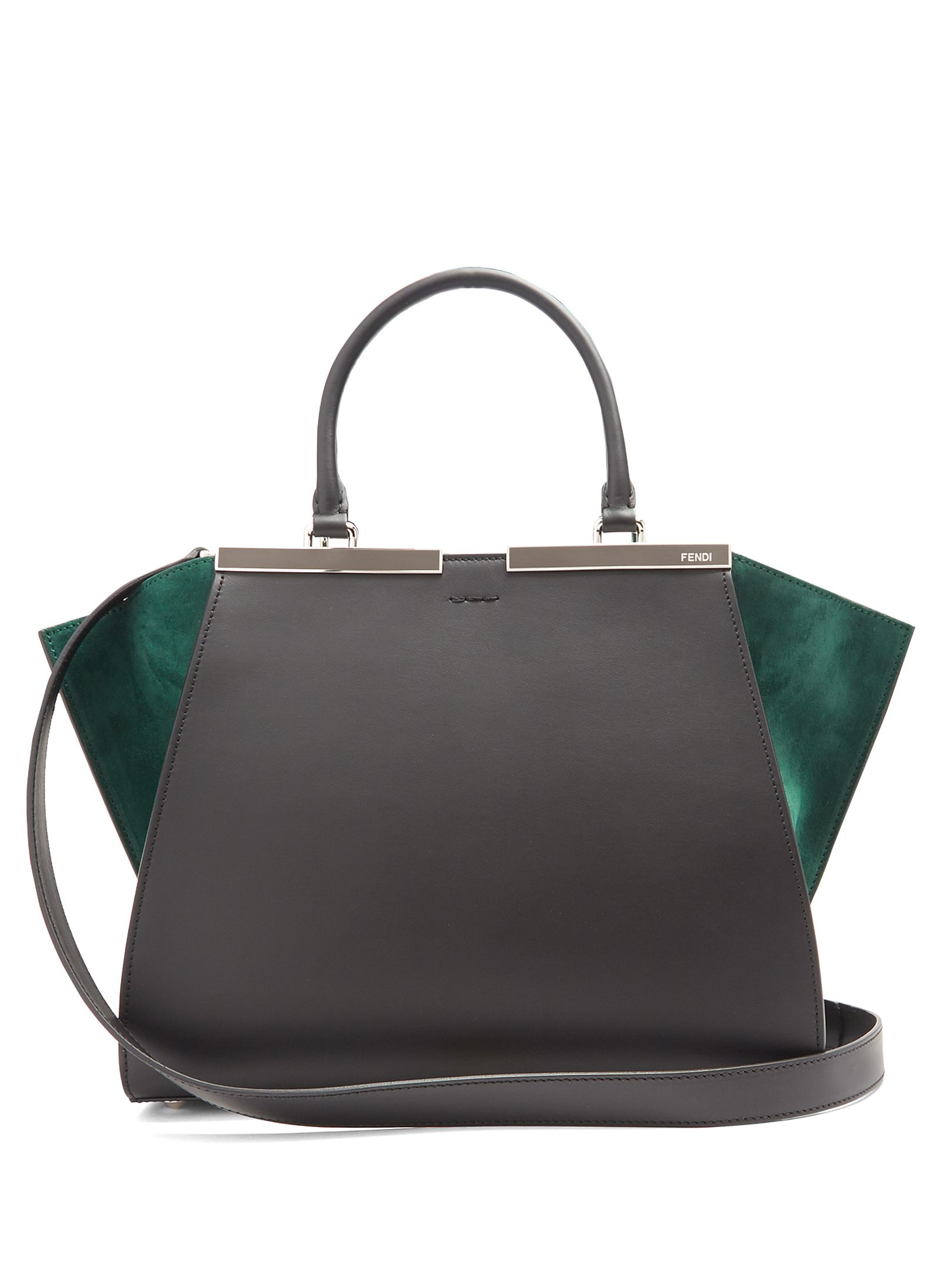 Click here to buy Fendi 3Jours contrast-panel leather and suede bag at  MATCHESFASHION.COM d6fd850b31f3c