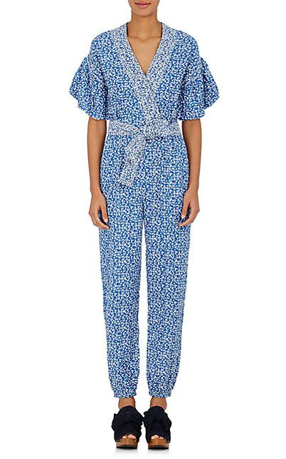 4ac6a473fd2 Ulla Johnson Reiko Floral Cotton Jumpsuit - Dresses - 504913592 ...
