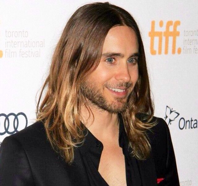 OMG! Jared Leto...I think I got a cavity looking at this cause it's so SWEET!!!