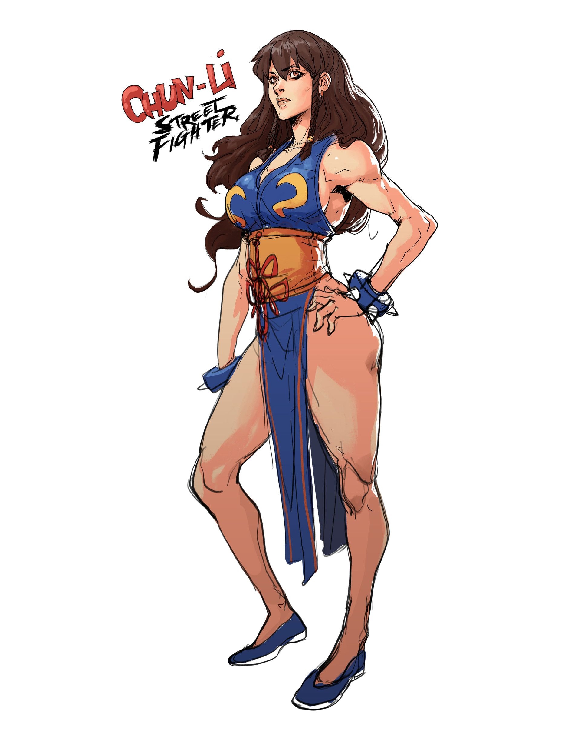 street fighter characters girls